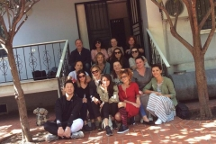 The first group of students of group analysis, Foundation Course, May 2017